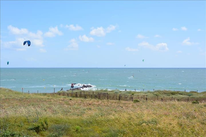 Charming sunny house with sea views. - Jard-sur-Mer - House