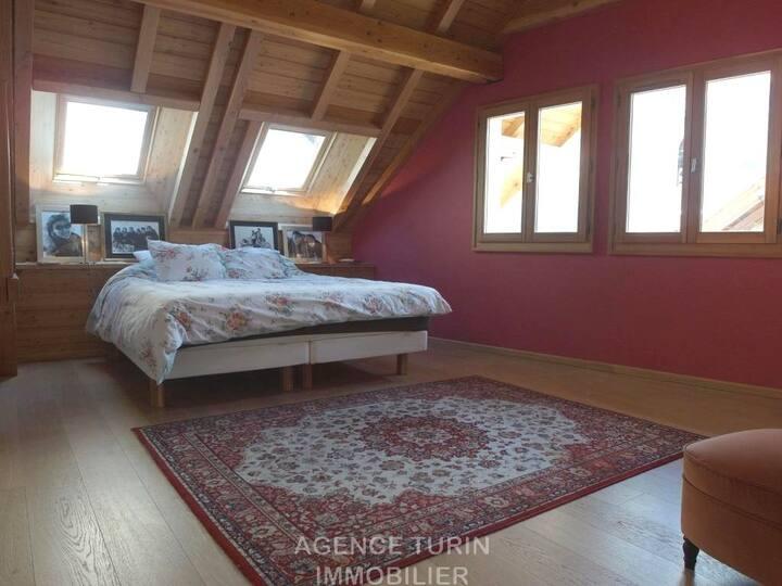 Superbe maison à Serre-Chevalier : Luxe et confort