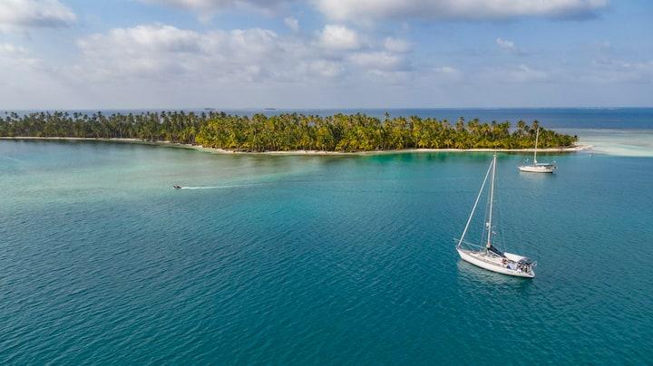 In barca a vela a San Blas - All inclusive