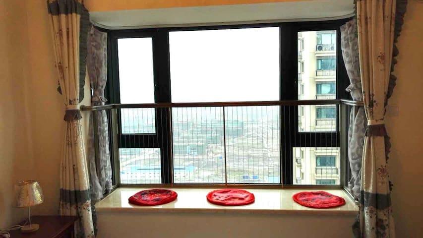 恒大海上威尼斯 海边高层阳光两房 客厅阳台厨卫齐备 - Nantong - Apartamento