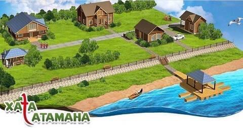 На берегу Дона дом Атамана