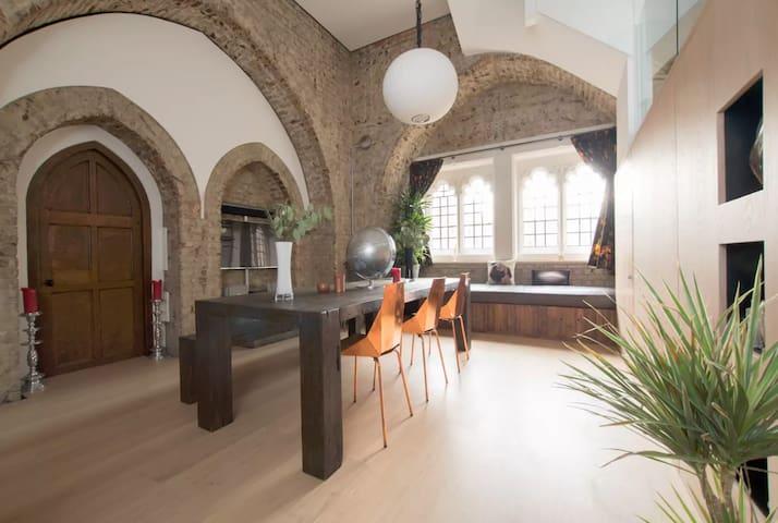 Award Winning Church Tower/ Penthouse  Conversion