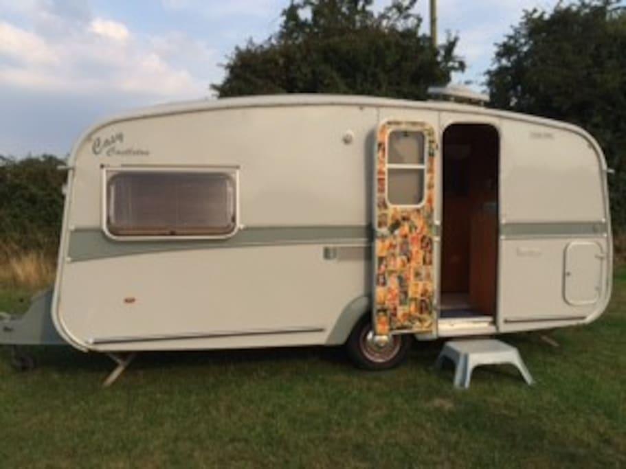 Casy Retro caravan