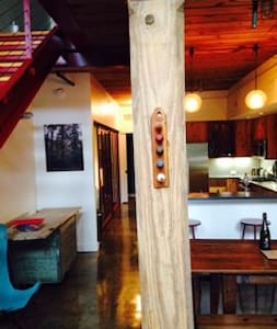 Loft in the heart of Saxapahaw Village - Saxapahaw