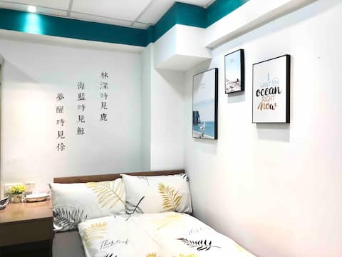 <Monthly $6500> 阿木 AMU Double Room, TST MTR 4mins