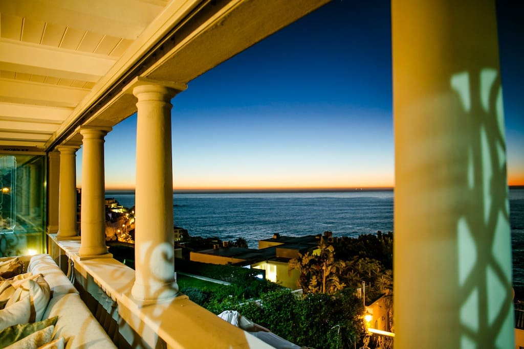 Magnificent sea views from all three levels.