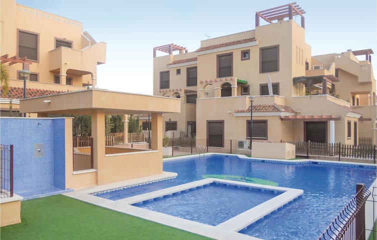 Holiday apartment with 2 bedrooms on 65 m² in Águilas