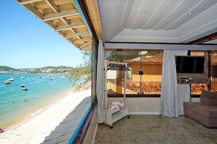 Incredible Beachfront Villa Búzios - BUZ028