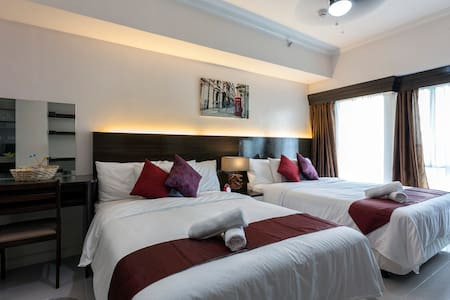 NEW 2-Bed Hotel Type Taal View Room + Balcony - Condominium