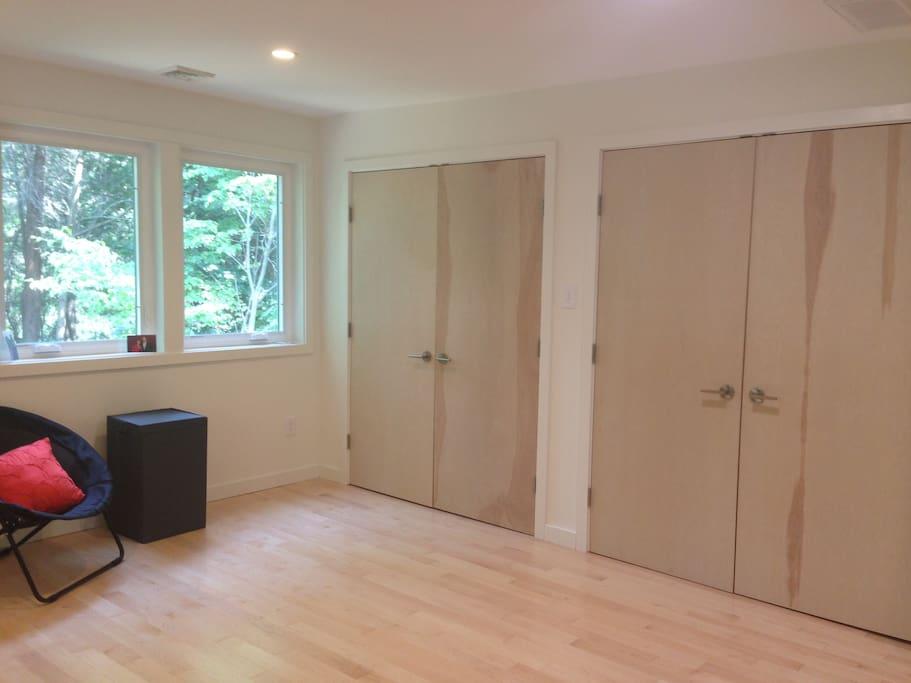 BR 1: large closets