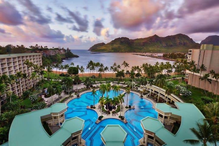Marriott's Kauai Beach Club, 5* accomodations