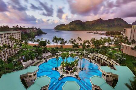 Marriott's Kauai Beach Club, 5* accomodations