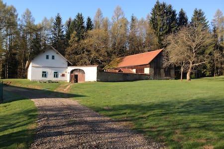 Ubytování na usedlosti Samota Křemen