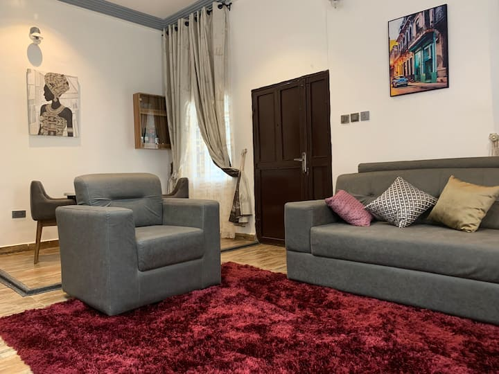 Spacious and well furnished 2 bedroom apartment