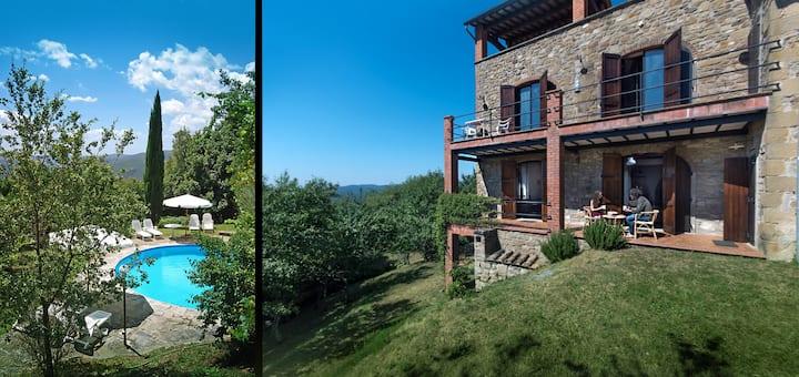 Villa Tuscany. Private villa, pool & big garden