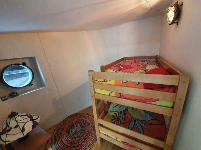 Bedroom 2: bunkbed for 2 people