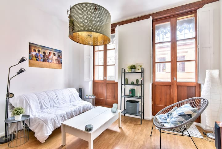 Beautiful studio in the heart of the pink city
