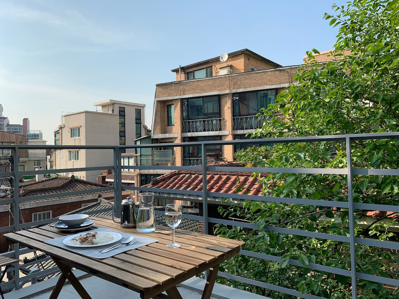 Bingo hostel Private rooftop