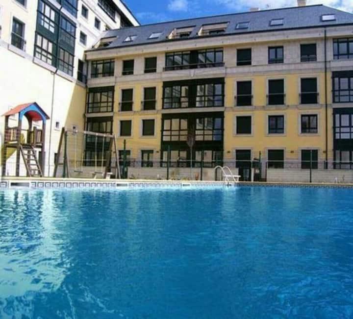 Apartamento a orillas del mar, Foz (Lugo)