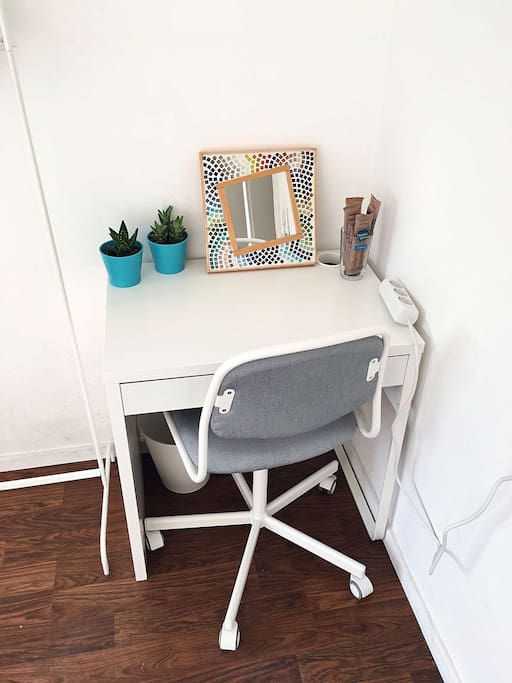 Your writing desk