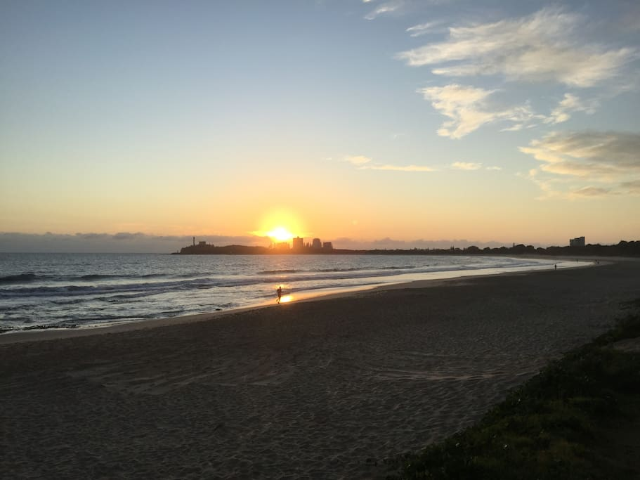 Local Mooloolaba Beach at Sunrise