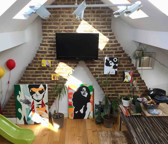LOFT LIVING IN BRIXTON