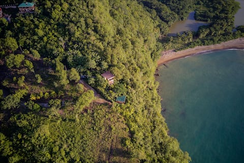 Treehouse Marigot Bay Eco Studio amazing sea views