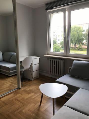 świeżo wyremontowany, nowoczesny pokój