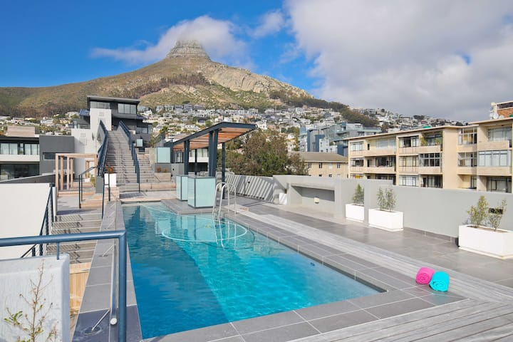 Brand new 1 bed apt in vibey Sea Point.