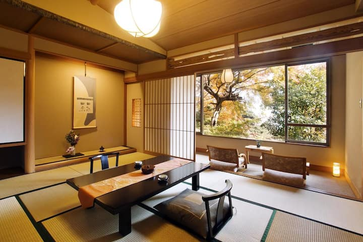 Japanese-Style Standard Room with Garden View