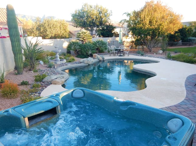 ZEN PARADISE..Pool..Hot Tub..Views..4Bed..2Bath - Oro Valley - House