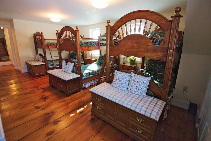 The Bunk Room at Woods Hill