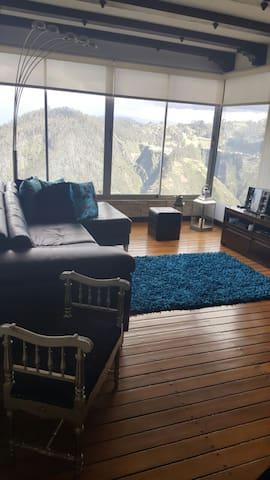 Habitación con vista increíble y baño privado - Кито - Квартира