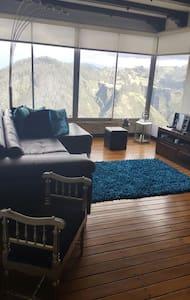 Habitación con vista increíble y baño privado - Quito - Leilighet