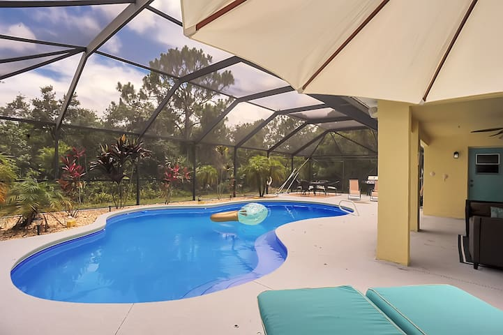 Private, secluded, and spacious 4BR/2Bath w/ Pool