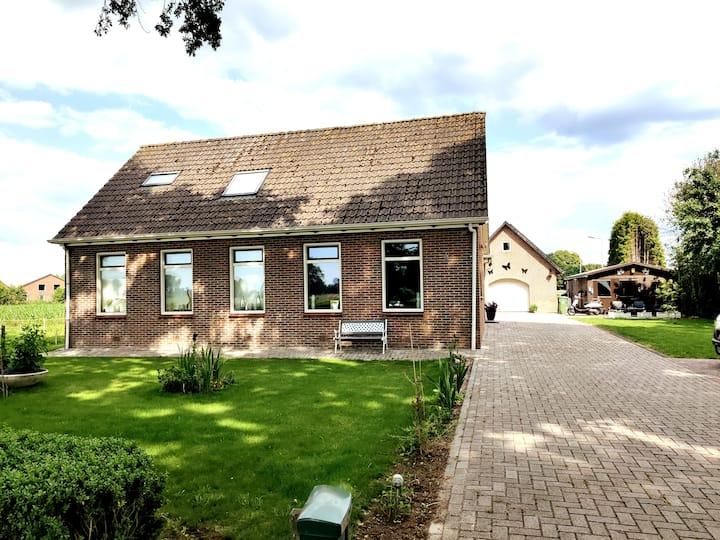 Heerlijk en compleet Appartement in mooi Drenthe