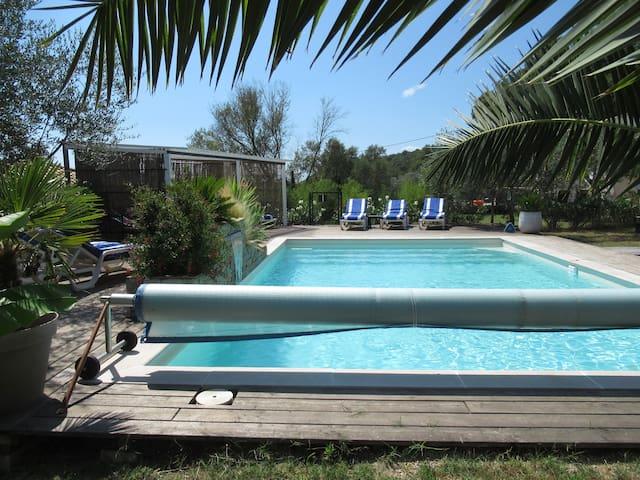 ClaireJo, Les Vignes, 4 pers  piscine proche plage