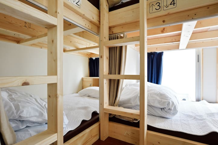 ★Near Osaka castle,12min to Namba ! mix dorm