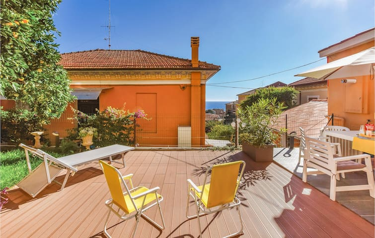 Beautiful home in Imperia (IM) with WiFi and 2 Bedrooms