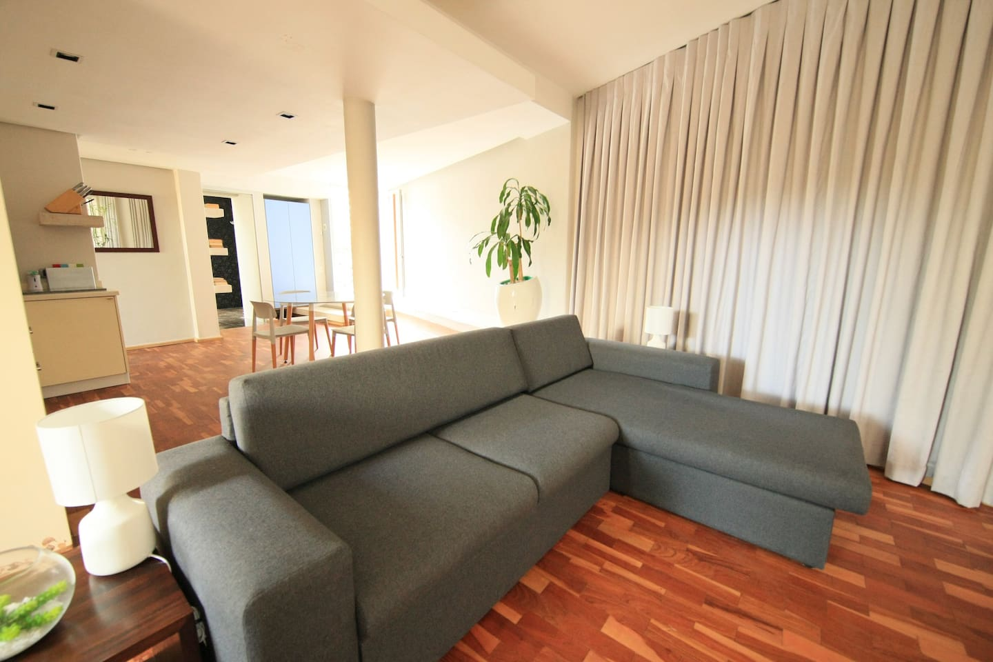 relax in our couch and day bed
