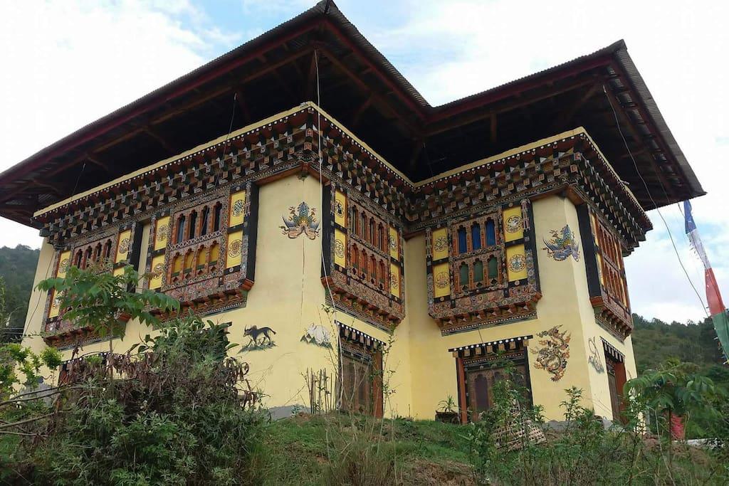 Namgay Zam's Farmhouse