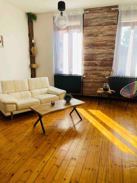 Chambre nature dans Maison de ville