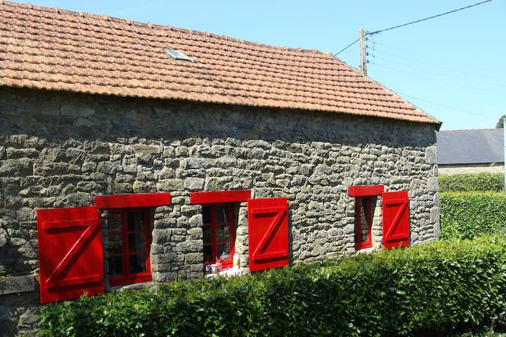 French Farmhouse, Le Petit Four - Querrien - Hus