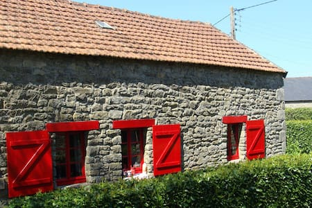 French Farmhouse, Le Petit Four - Querrien - Casa