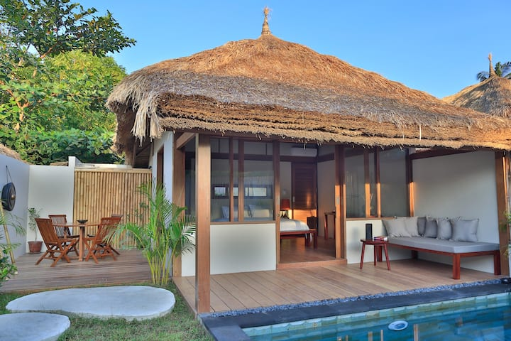 Elegant one bedroom villa with private pool