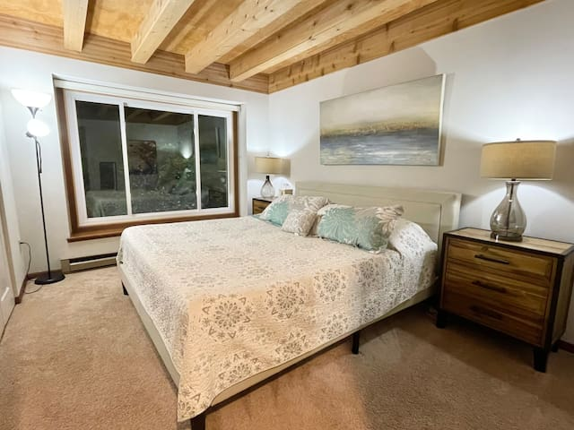 Master Bedroom with King Bed & Closet