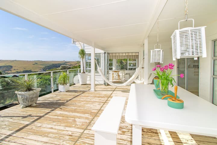 White sun drenched holiday home- the Sullies