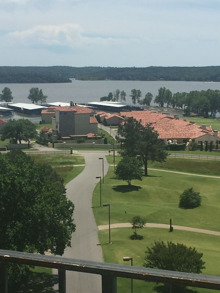 Your view from the balcony! Grand Lake at its finest.