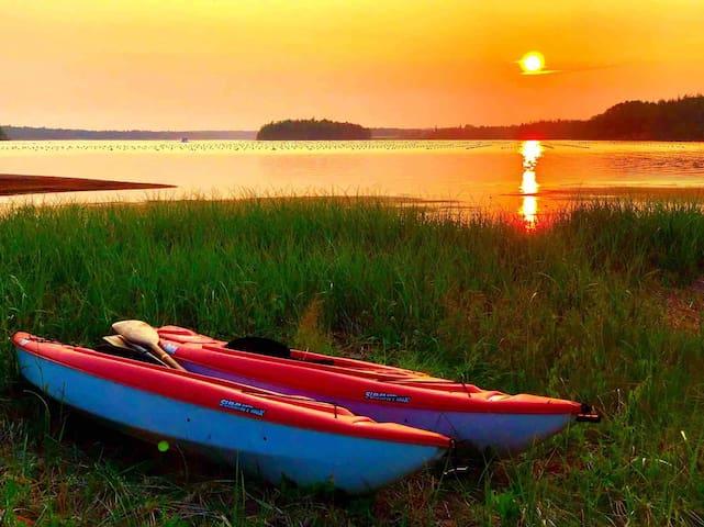 ♥ C'est la Vie Sunset Cottage♥on  Brudenell River