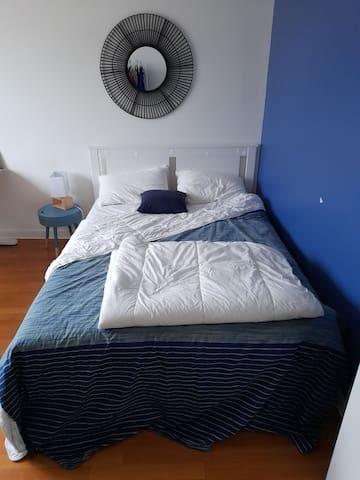 Charmante et luxueuse chambre , très calme et cool